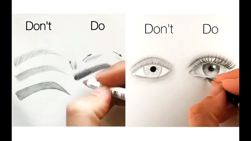 10 Easy Tips for Drawing Face Eyes Nose and Lips
