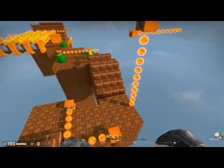 Фаст прохождение карты в стиле Mario