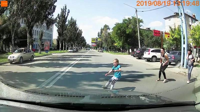Водители и родители! Будьте внимательны и осторожны на дорогах.