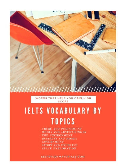 ielts vocabulary by topics