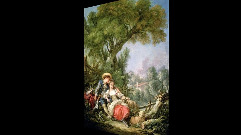 Иоганн Кристиан Бах Симфония ми бемоль мажор, W C19, 2 часть