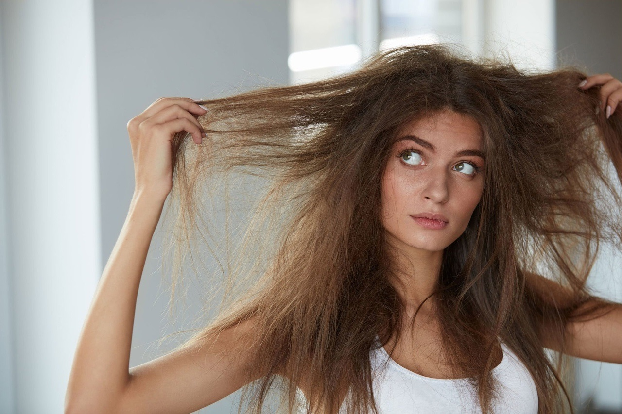 картинки тусклые волосы уксус