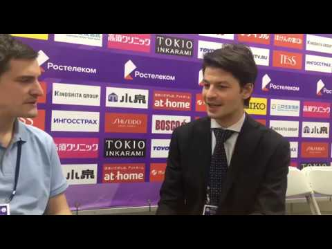 Interview de Stephane Lambiel - sur Trusova, Tutberidze et jugement au patinage