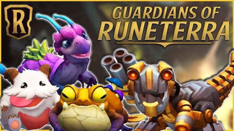 Guardians of Runeterra Revealed Poro T Hex Scaled Snapper and Gromp Jr