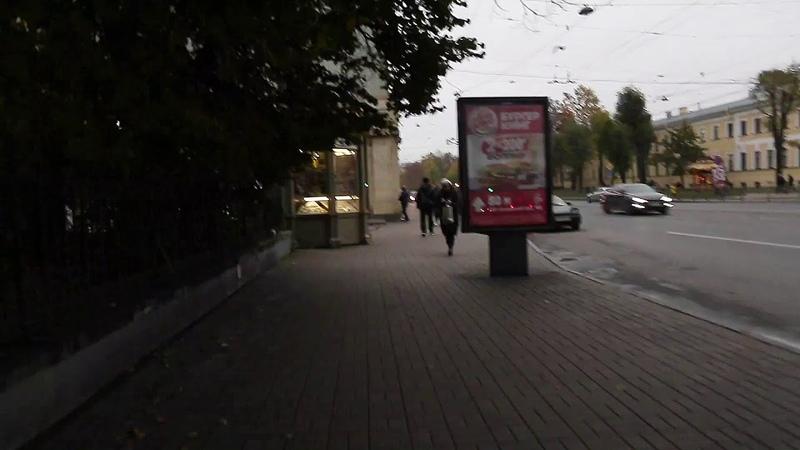 Видео обзор прохода от метро Пушкинская до зала на Пер. Большой Казачий д.11