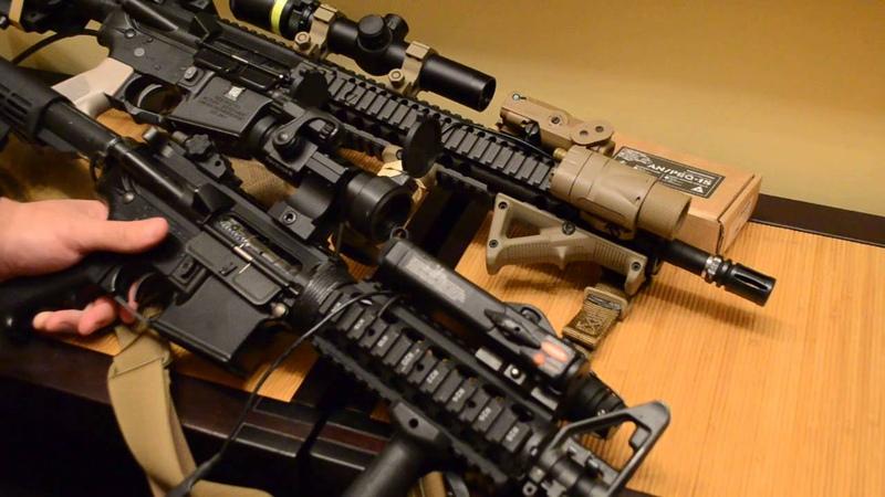 Немного о труевых репликах аксессуаров VFC AN PEQ15 VFC M3X King Arms AN PEQ 2