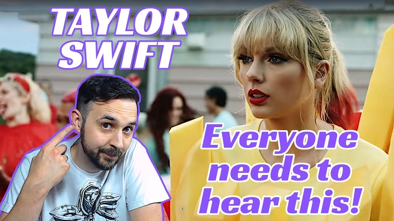 My Reaction To Taylor Swift You Need To Calm Down