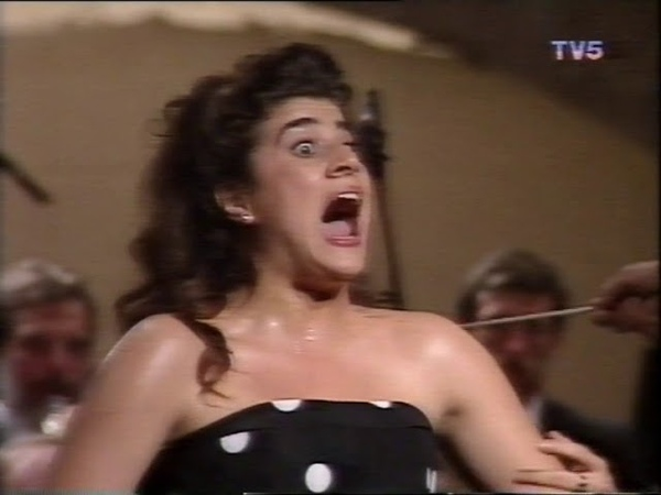 26 year old Cecilia Bartoli Recital Antibes 1992
