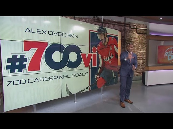 Alex Ovechkin honored by Capitals for reaching 700 career goals