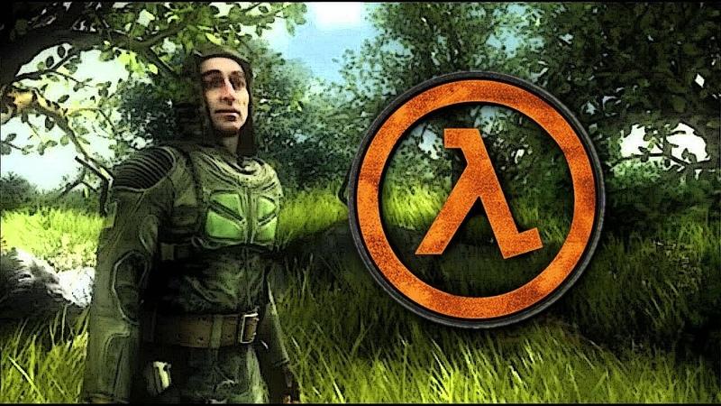 S.T.A.L.K.E.R SoC Ending dubbed with Half Life SFX