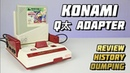 Konami QTa Adapter и Space School для Nintendo Famicom Extra Life