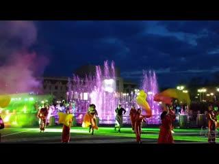 Открытие фонтана Череповец