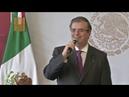 Mensaje a medios del secretario Marcelo Ebrard en seguimiento a lo sucedido en El Paso Tx