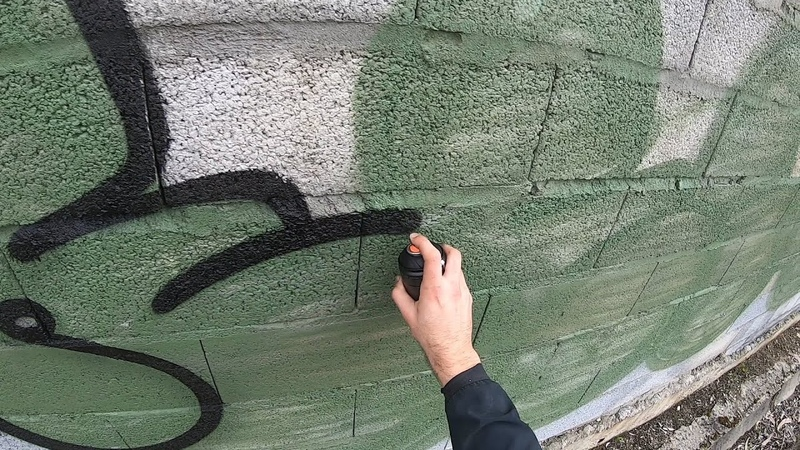 Graffiti Resk 12 Solo Tagging and Bombing Mission part 1