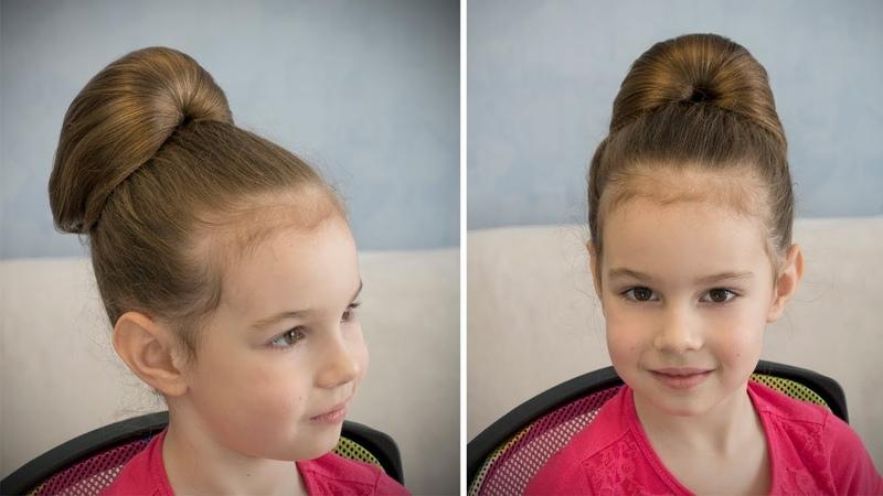 ПРОСТАЯ ретро прическа БАБЕТТА за 3 минуты 💖 Simple hairstyle BABETTE 💖