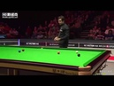 Ronnie OSullivan - Cant imagine for a minute he can clear up from here!