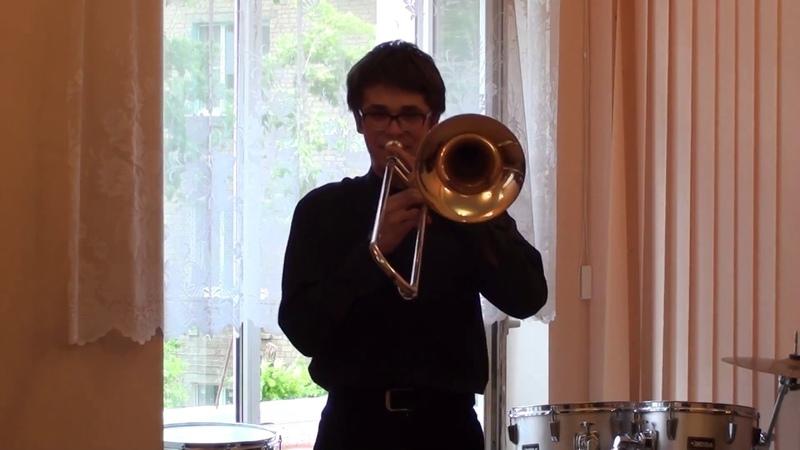 С.Рахманинов Прелюдия №10, соч. 23 - Пакин Олег, солист оркестра Akadem Brass
