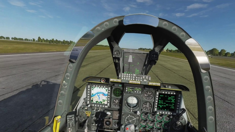 DCS World in VR - Is it practical?