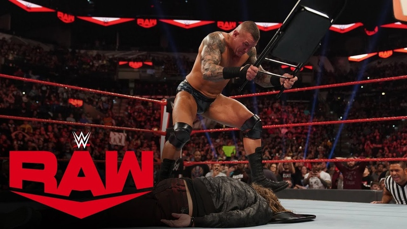 Randy Orton unleashes a ruthless steel chair assault on Edge Raw Jan 27 2020