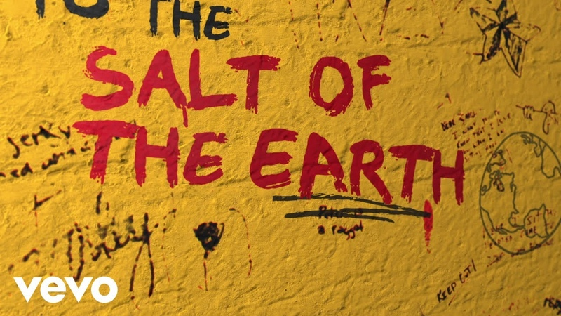 The Rolling Stones Salt Of The Earth Official Lyric Video