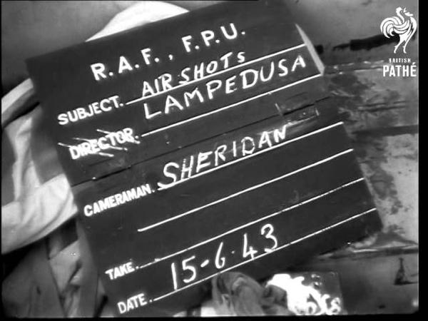 Aerial Shots Of Lampedusa 1943 1943