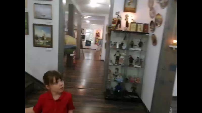 Открытие художественной выставки в Форт Арт галерея