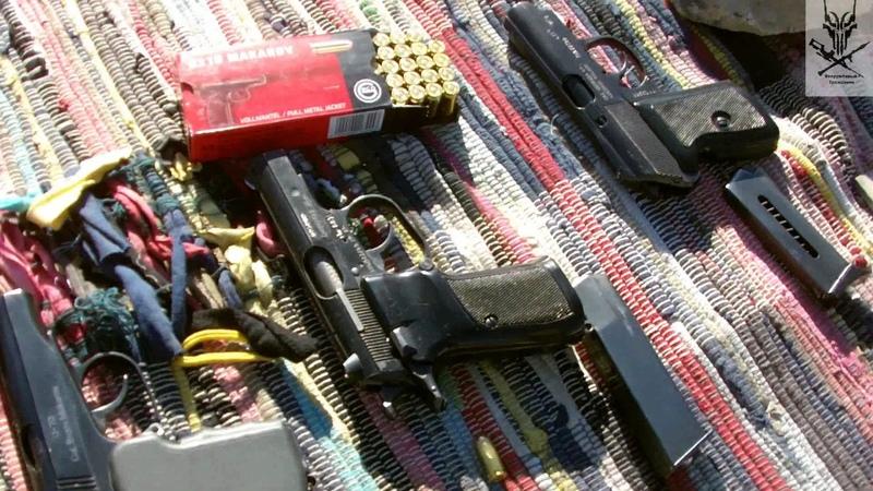 Пистолет Макарова , Р-64 и CZ-82 .Сравнительный отстрел