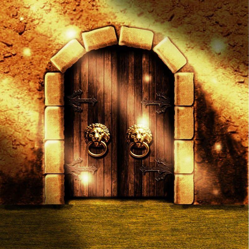Картинка ворот из сказки