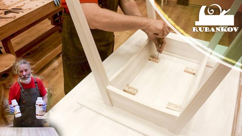 Отбеливание древесины тонировка маслом вощение древесины Отделка мебели своими руками