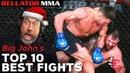 Big Johns TOP 10 BEST FIGHTS OF 2020 Bellator MMA