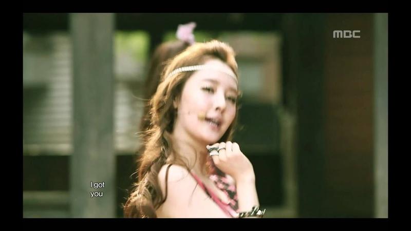 Dal Shabet - Mr.Bang Bang, 달샤벳 - 미스터 뱅뱅, Music Core 20120616