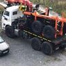 Лесовоз Камаз 43118 с гидроманипулятором VPL 100-76
