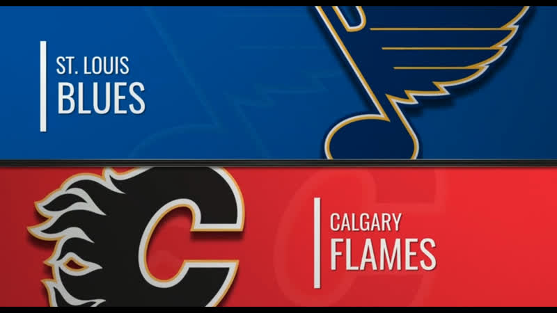 NHL Regular Season 2019-20 St. Louis Blues-Calgary Flames