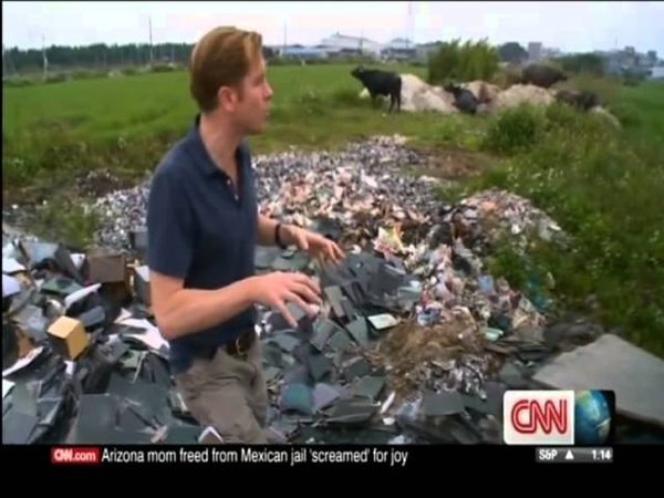 China World's dumping ground for Electronic Waste CNN