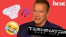 Arnold Schwarzenegger talks challenges of changing diapers and all things Terminator: Dark Fate