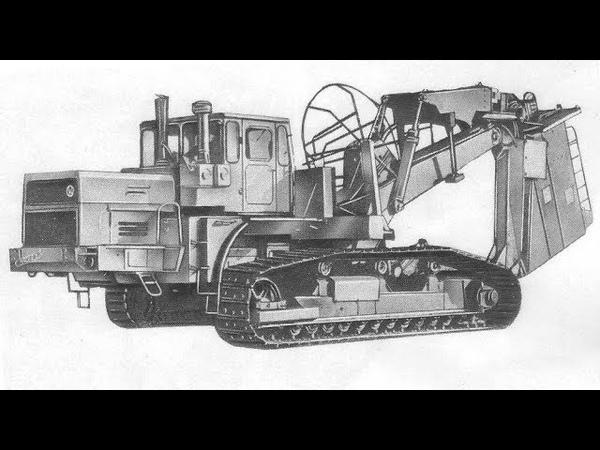 Новый дреноукладчик Мелиорация 1982