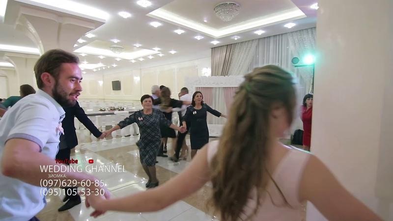 КОЛОМИЙКА ПРИКАРПАТСЬКА танці до упаду весілля в Ювілейному гурт Догадайтесь самі