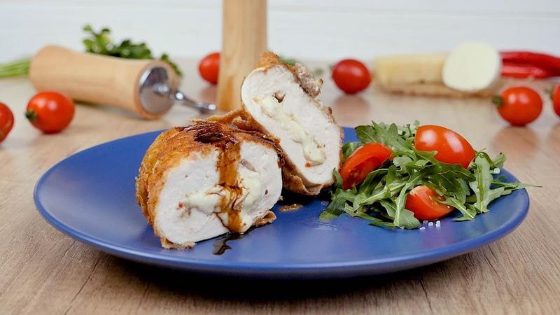 Куриная грудка с сыром по милански Рецепты от Со Вкусом