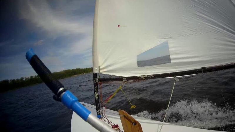 Глиссирование на яхте Луч