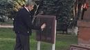 В России закрасили памятную доску Гарегину Нжде