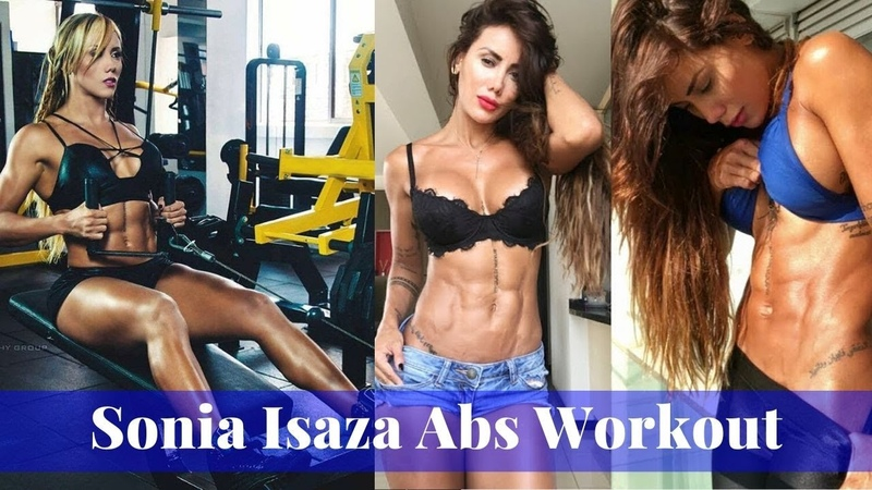 Fit Women Workout 2019💖Best Girls Abs Workout🔥FBB Presents Sonia Isaza Abs RIPPED SHREDDED💪🙏💖🔥