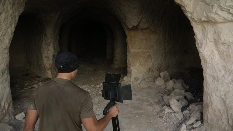 [Сирия] Подземные города террористов - полное видео.