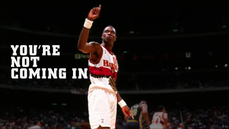 You cannot fly in the house of Mutombo @officialmutombo x NBABlockWeek