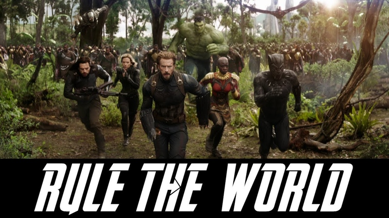 Marvel Music Video - Rule the World - Zayde Wolf