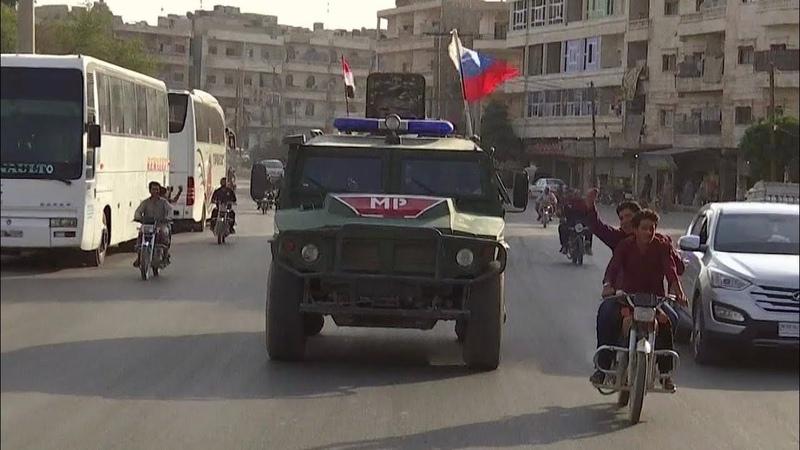 Сирийская армия приближается к району проведения турецкой операции Источник мира.