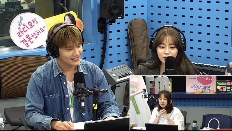 191023 Хо Ёнджи Hur Youngji и Ён Джу Park Yongjoo на SBS Power FM Park Sohyuns Love Game