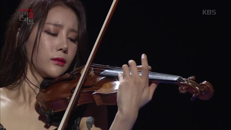 문화빅뱅 더 콘서트 바이올리니스트 신지아 쇼팽 녹턴 제20번 올림 다단조 20151230