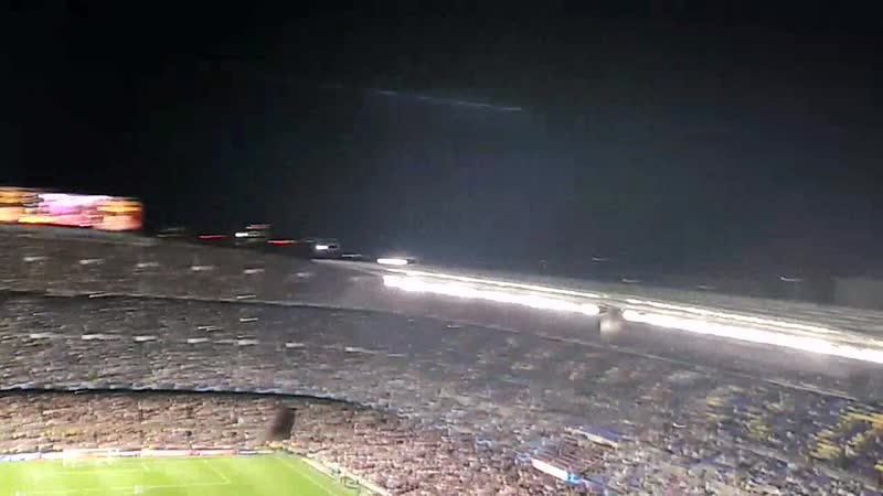 Камп Ноу. 02.10.2019. ЛЧ. Барселона 2-1 Интер.