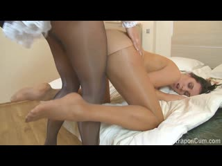 """French maid strap-on sex gina & roxie (""""женские штучки от насти"""")"""