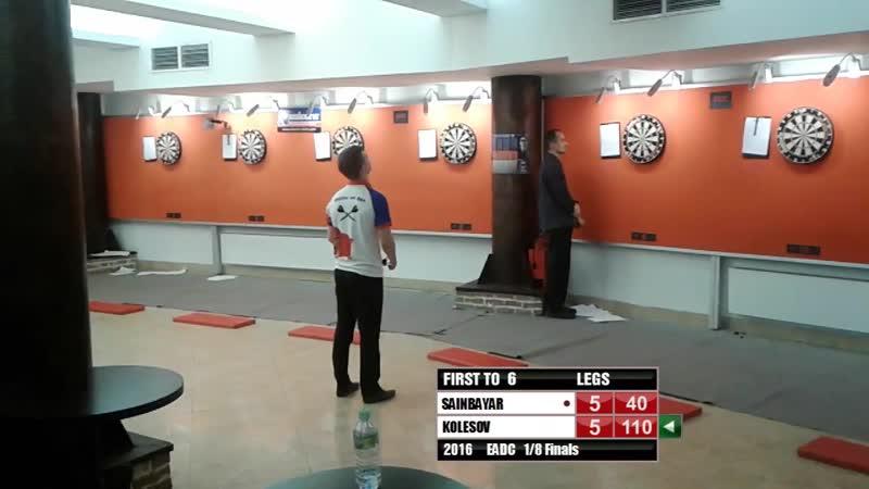 EADC 2016 Sainbayar vs Kolesov Final leg
